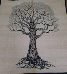 Colcha Indiana Árvore da Vida