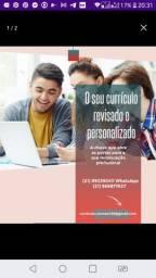 Currículo personalizado e revisado