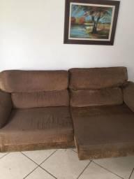 Sofá retrátil e reclinável 2,5m de comprimento