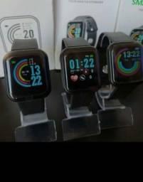 Título do anúncio: Vendo Smartwatch Y68/D20 Atualizado. Coloca foto na tela.