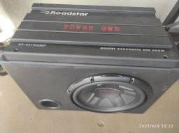 """Módulo Power One + Caixa com sub Pioneer 12"""""""