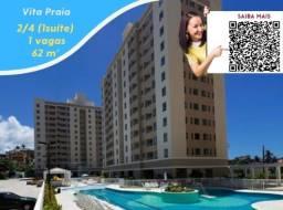 Oportunidade , 1 vaga , 2 quartos (1 suíte) , Vitta Praia , 62m² , Itens de lazer completo