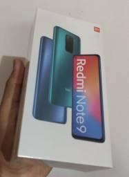 Xiaomi redmi note 9 128gb e 64gb lacrado na caixa com garantia