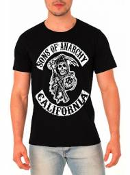 Camisa sons of anarchy camisa serie sons of anarchy