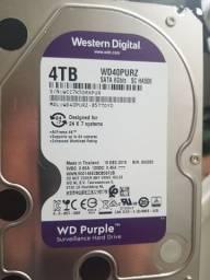 Título do anúncio: HD Western Digital Purple 4tb