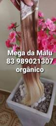 Mega Hair orgânico no tic tac