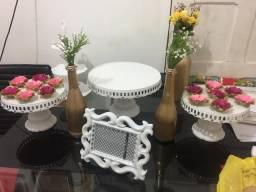 Aluguel de decoração de mesa