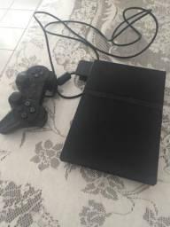 Playstation 2 com 24 jogos