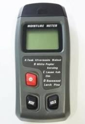 Medidor de umidade - Madeira e papel - Novo