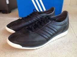 78651e8e0f Tênis Adidas Originals SL72 em Couro Premium na Cor Preto