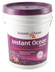 Sal marinho tetra instant ocean balde 21,7g