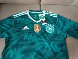 Camisa alemanha verde 2018 copa jogador nova 711245ccf19b9
