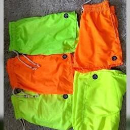 Shorts e Camisas