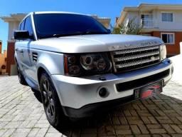 Range Rover HSE 4×4 motor 3.6 V8 ano 2008 32V BiTurbo Diesel Teto Solar - Bancos de Couro - 2008