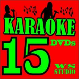 17 Dvds Karaoke 1200 Musicas