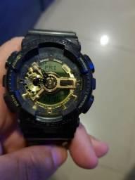 Relógio Casio G Shock Preto com Dourado Original comprar usado  Rio de Janeiro