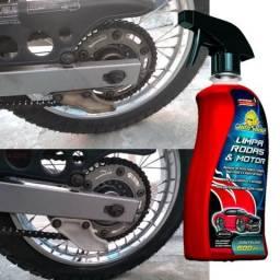 Limpa Rodas e Motor