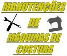 Manutenções em máquinas de costura