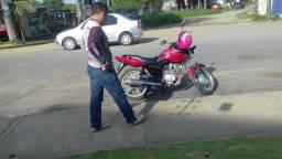 Vendo essa moto por 3.500 toda em dias ou troco por uma 150 - 2011