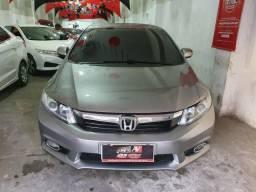 Honda Civic 2013 Automático 1 mil de entrada Aércio Veículos thh - 2013