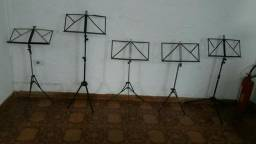 Estante para partitura usadas