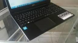 Notebook Acer E5-511 Quad Core 4GB, Tela LED de 15.6 Pol - Aceito Cartão