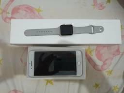 Iphone 8 Plus + Apple Watch S3
