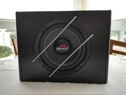 Vendo Caixa de som Amplificada com Subwoofer 8 Hinor para automóvel