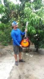 Vendo violão tagima califórnia - Só hoje 20/10 450,00 no dinheiro p vir buscar aq comigo