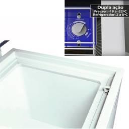 Freezer para Congelados Dupla Função Da420 Metalfrio