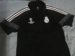 ed225f343f6 Camisa polo Oficial Real madrid Champions league