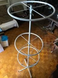 Cabideiro arara circular p/ loja