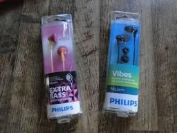 Baixou: Fones de ouvido originais Phillips!