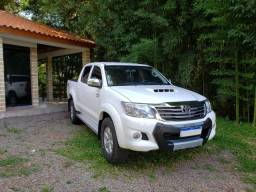 Toyota Hilux 3.0 SRV 4x4 2013 Diesel impecável ipva 2020 pago aceito troca - 2013