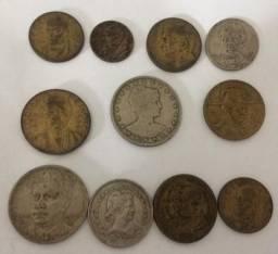 Lote moedas de Reis - Brasil República