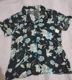 Blusa estampada Tam G