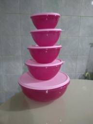 Kit Tupperware rosa