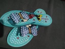 Sandálias novas . rasteirinha 30 sapatos 40 melicas pld 50