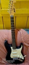 Kit guitarra profissional e amplificador auricular novos