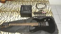 Guitarra Elétrica + Acessórios