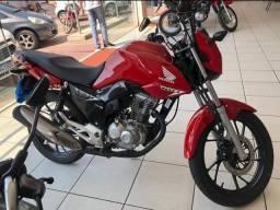 Moto Honda Fan 160 Financiada! Entrada: 1.000 Assalariado e Autônomo!