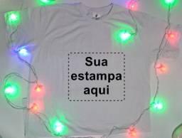 Camiseta personalizada com sua estampa