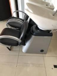 Lavatório de salão/barbearia