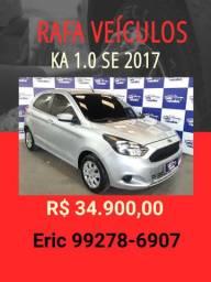 KA 1.0 SE 2017 R$ 34.900,00 - RAFA VEÍCULOS ERIC
