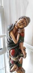 Buda com pedrarias barroco