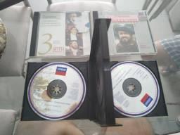 Cd's do Pavarotti