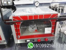 Forno 1 Pedra Guilhotina Mini Chef Industrial a gás Progás