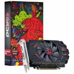 Placa De Video Amd Radeon Rx 550 4gb Gddr5 128 Bits + Cabo