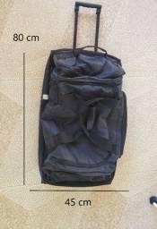 Bolsa para viagem com suporte e rodinhas