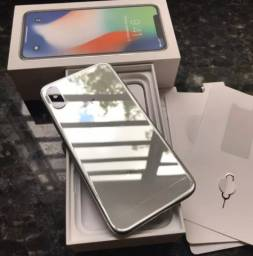IPhone X 128gb novo e Lacrado